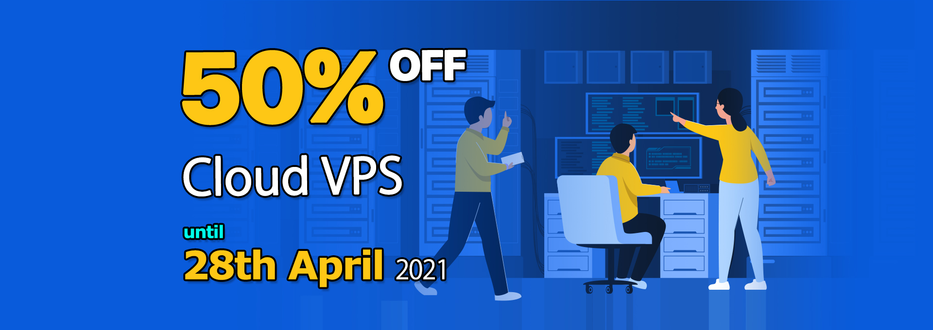 Cloud VPS 50% Off