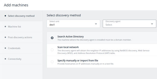 Devices Auto-Discovery